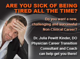 Dr. Julia Kinder - Physician Career Transitioning Consultant - Coaching and Consulting for doctors seeking to explore alternative careers for physicians and start a new non-clinical career or modified clinical career - Non-Medical Jobs for Physicians